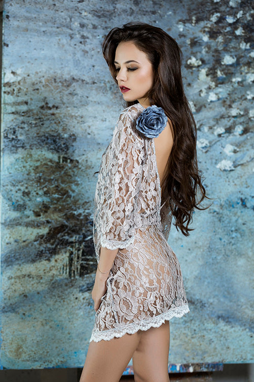 Luxury Lace Short Dress