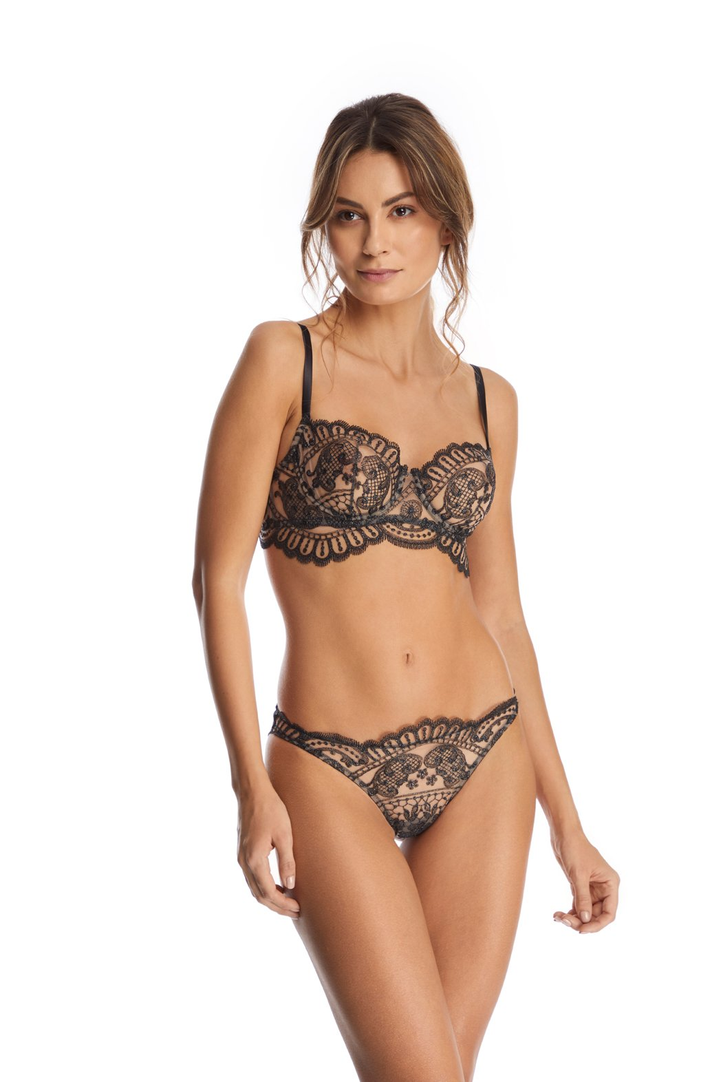 Embroidered Lace L/Bra