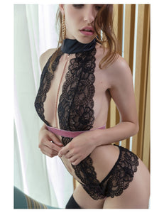 Lace Novelty Body Silk With Velvet
