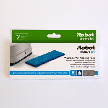 iRobot Braava Jet 240 Washable Wet Mopping Pad - 2 pack - Robot Specialist