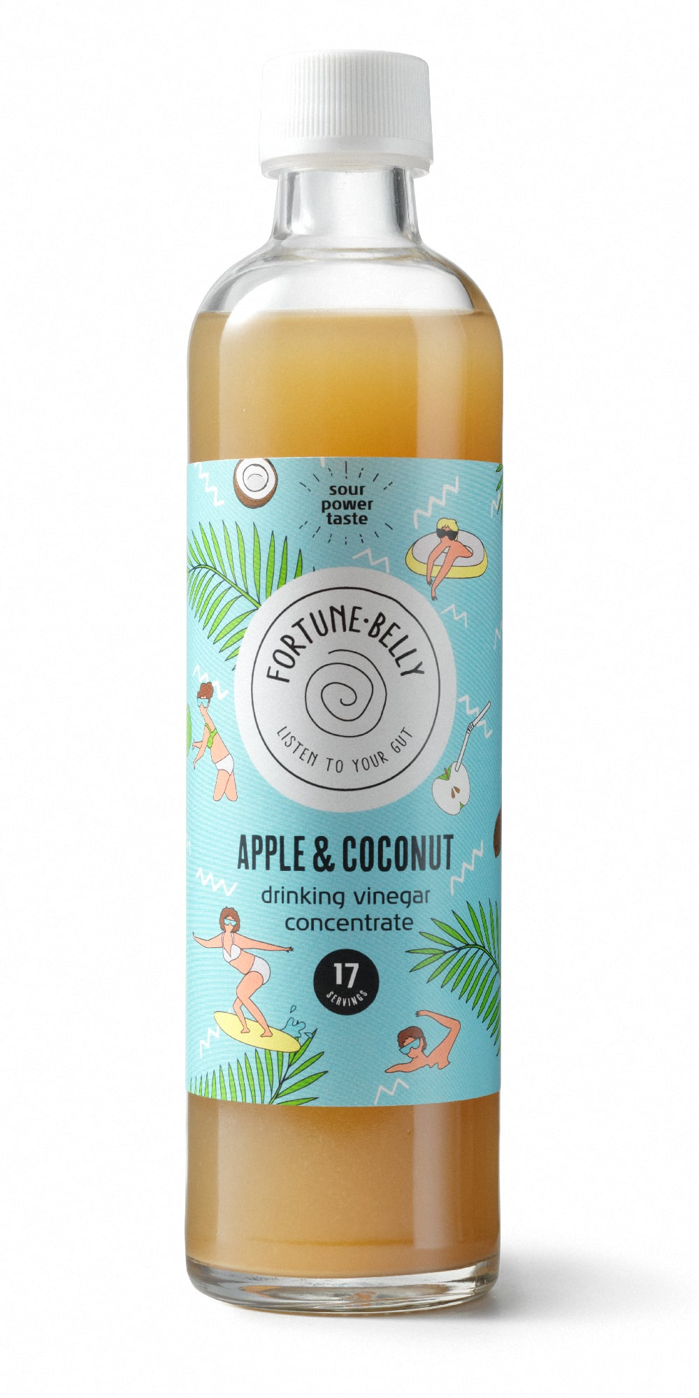 FortuneBelly Apple & Coconut Vinegar Drink Concentrate