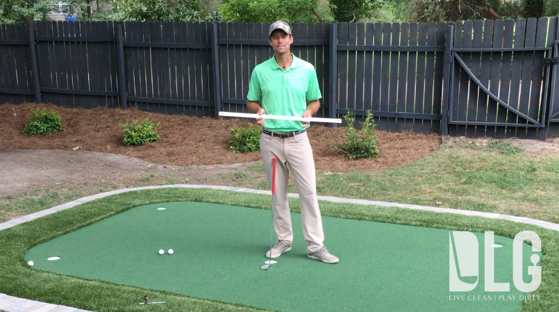 DLG Performance Center | Putting Drill Series: Yardstick Drill