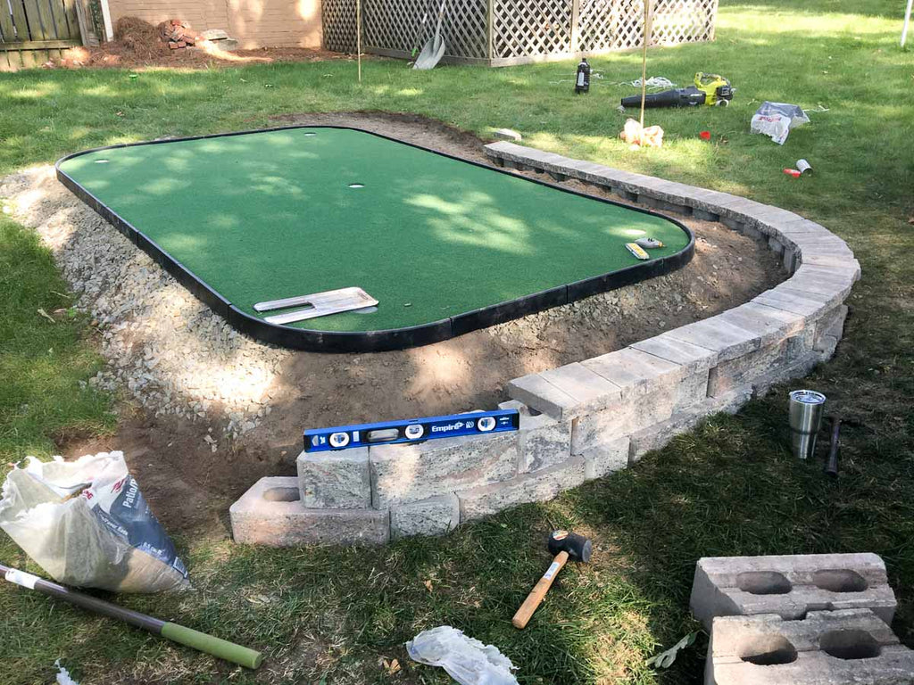 cost of diy putting green