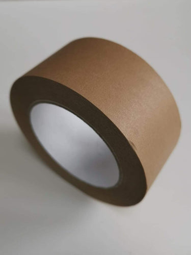 Compostable Paper Tape 50 metres- 50mm wide