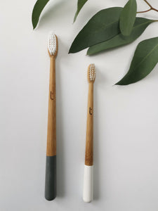 Truthbrush Bamboo Toothbrush Family Pack X 2