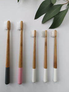 Truthbrush Bamboo Toothbrush Family Pack X 5