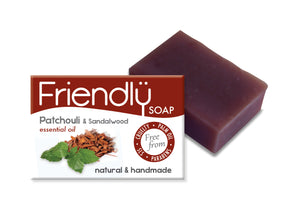 Friendly Soap Patchouli and Sandalwood
