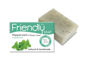 Friendly Soap Peppermint and Poppy Seed