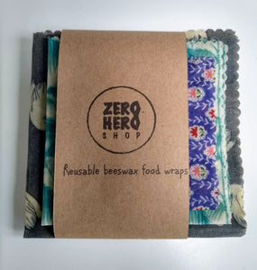 Beeswax Food Wraps-Set of 3
