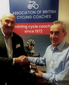 Cycling Coach Honoured