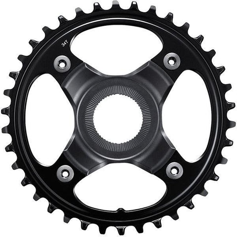 Shimano STEPS SM-CRE80 STEPS chainring for FC-E8000, 34T 53mm chainline, 12-speed