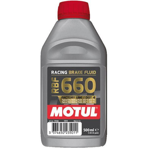 OBS UK Motul RBF 660 Factory Line (DOT 4) 0.5 litres
