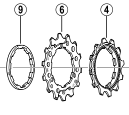 Shimano CS-M760 sprocket 14T