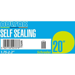 Nutrak 20 x 1.75 - 2.125 inch Schrader - self-sealing inner tube