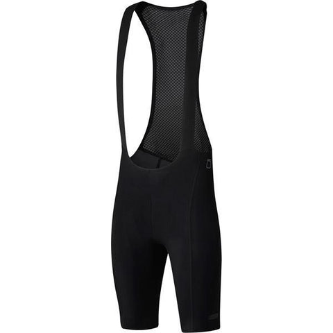 Shimano Clothing Men's Evolve Bib Shorts, Black, Size S