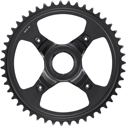 Shimano STEPS SM-CRE80-R chainring, 47T for chainline 50 mm, without chainguard, black