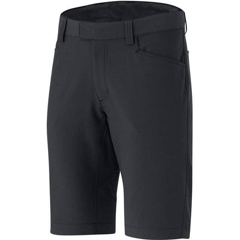 Shimano Clothing Men's Transit Path Shorts, Black, Size 34