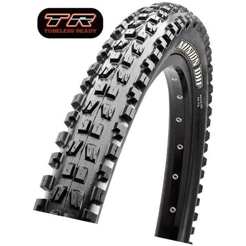 "Image of Maxxis Minion DHF 29"" x 2.30"" 60 TPI Folding Dual Compound ExO / TR tyre"