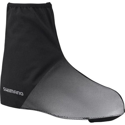 Shimano Clothing Unisex Waterproof Shoe Cover, Black, Size XL (44-47)