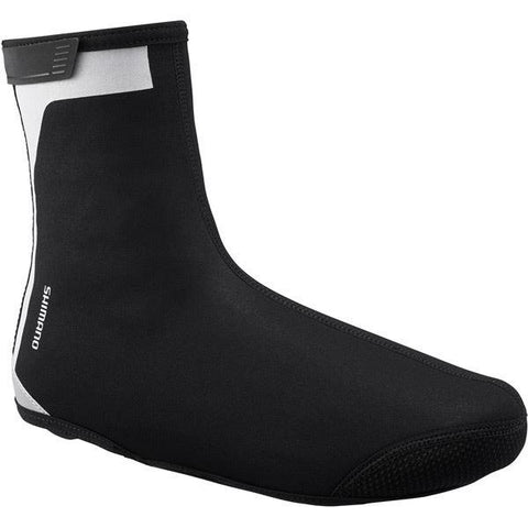 Shimano Clothing Unisex Shimano Shoe Cover, Black, Size L (42-44)