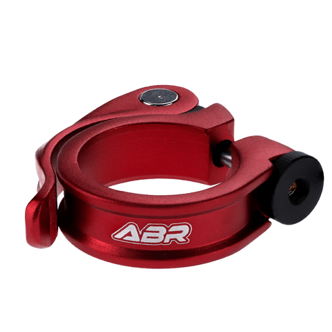 ABR Hoop QR Quick Release Seat Clamp RED 34.9mm