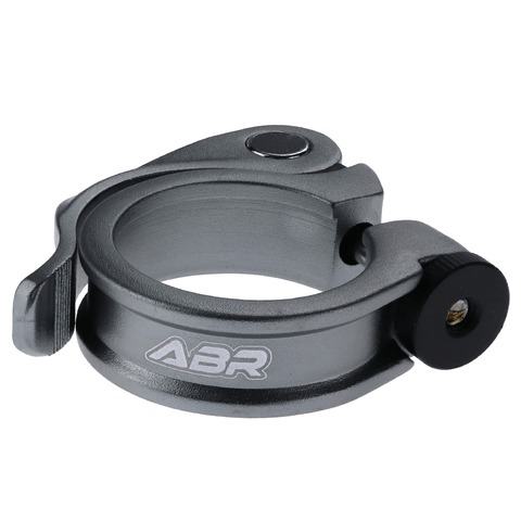 ABR Hoop QR Quick Release Seat Clamp XTR GREY 34.9mm