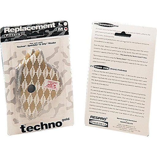 Respro Techno filters medium - pack of 2