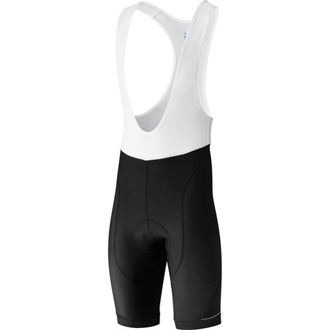 Shimano Men's, Shimano Aspire Bib Shorts, Black, Large