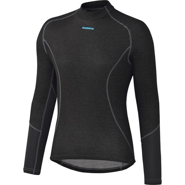 Shimano W's Breath Hyper Baselayer, Black, X - Large
