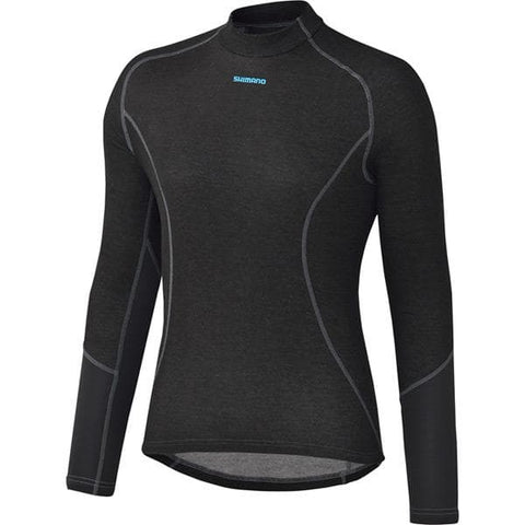 Shimano W's Breath Hyper Baselayer, Black, XX - Large