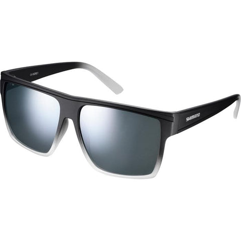 Shimano Square Glasses - Midnight - Smoke Silver Mirror