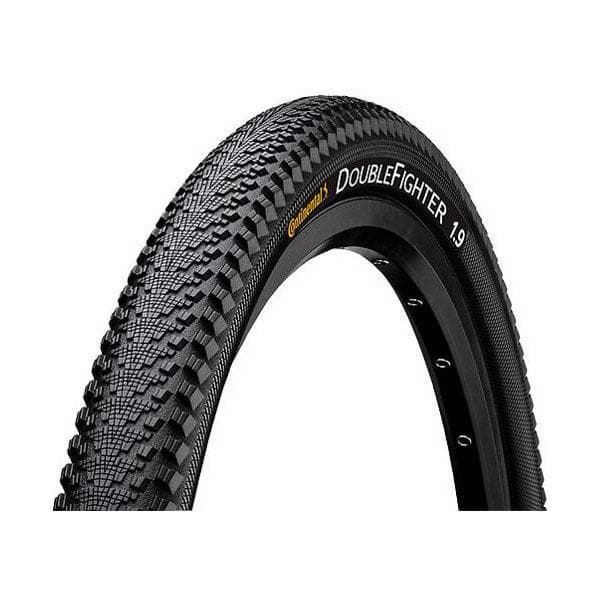 Continental Double Fighter III 700 x 37C Black Tyre