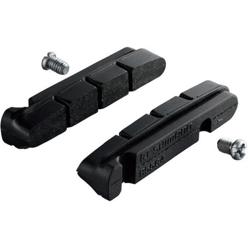Shimano BR-9000 R55C4 cartridge-type brake inserts and fixing bolts, pair