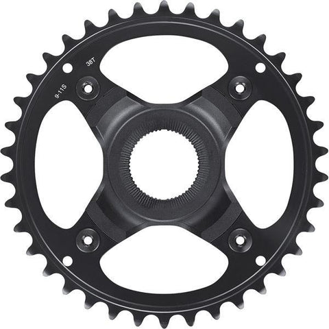 Shimano STEPS SM-CRE70 chainring, 38T for chainline 50 mm, without chainguard, black