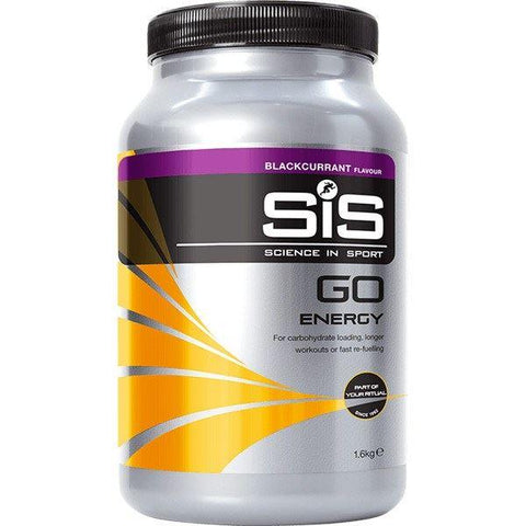 Science In Sport GO Energy drink powder - 1.6 kg tub - blackcurrant