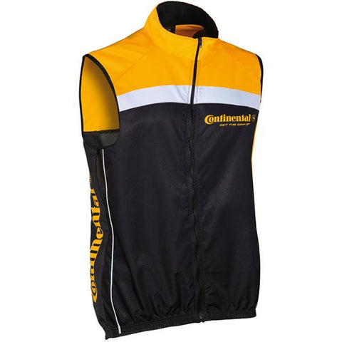 Continental Gilet Conti yellow / black X-large
