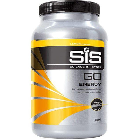 Science In Sport GO Energy drink powder - 1.6 kg tub - lemon