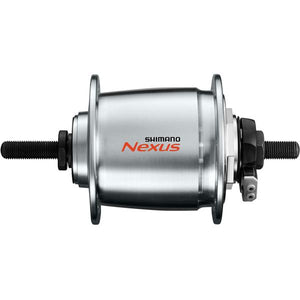 Shimano DH-C6000-2R Nexus, 6v 2.4w, for roller brake, for 26-28in wheel, 36h, nut type