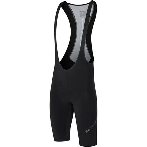 Shimano Clothing Men's, S-PHYRE FLASH Bib Shorts, Black, Size L