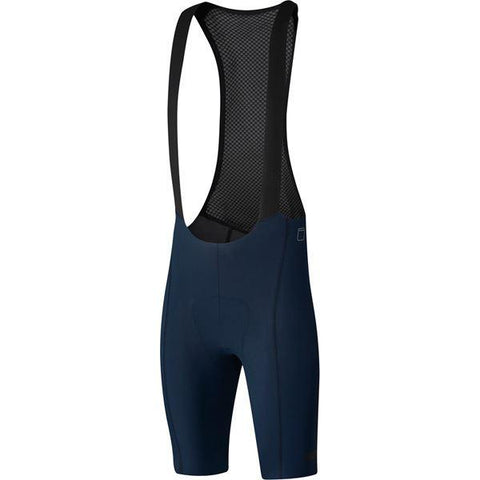Shimano Clothing Men's Evolve Bib Shorts, Navy, Size M