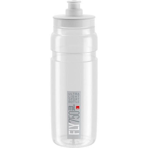 Elite Fly, clear with grey logo 750 ml