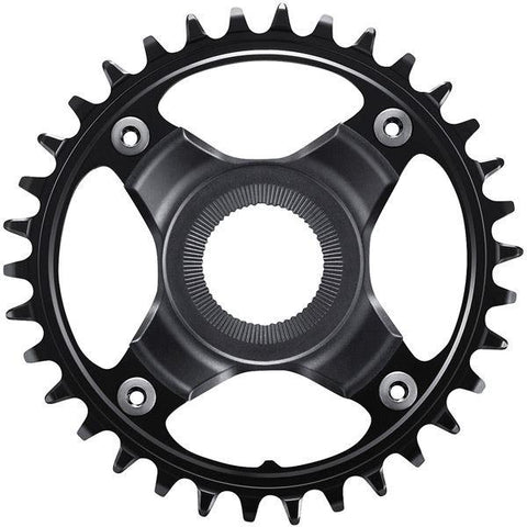 Shimano STEPS SM-CRE80-12-B chainring, 36T for chainline 53 mm, without chainguard, black