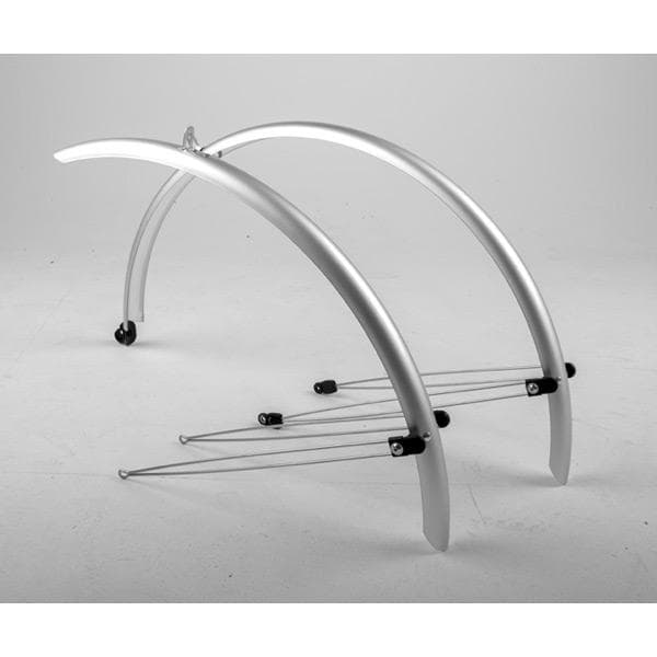 M Part Commute full length mudguards 700 x 46mm silver