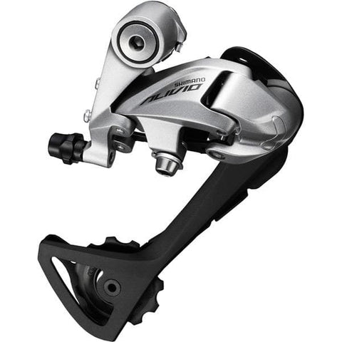 Shimano RD-T4000 Alivio 9-speed rear derailleur, SGS, top normal, silver