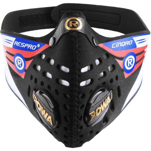 Respro Cinqro Mask Black X-large
