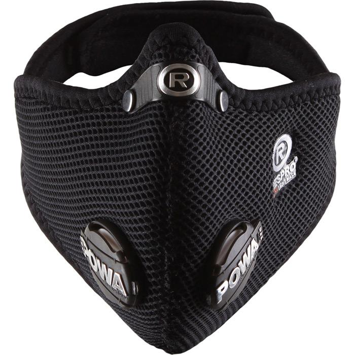 Respro Ultralight Mask Black Medium