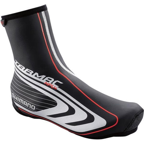 Shimano Tarmac NPU+ 3 mm Neoprene overshoe, with BCF and PU coating, black XX-large