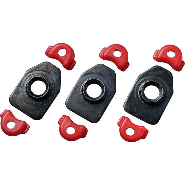 Shimano Cleat nut set, RC9, set for one shoe