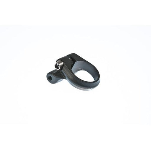 M Part Seat clamp with rack mount 34.9 mm black