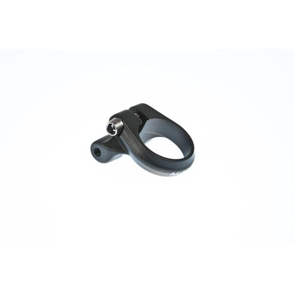 M Part Seat clamp with rack mount 28.6mm black